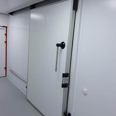 Door units for refrigerators and freezers