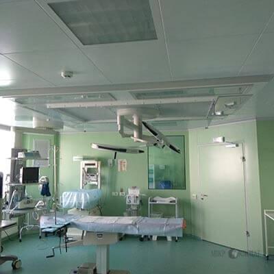 Laminar system for health facilities