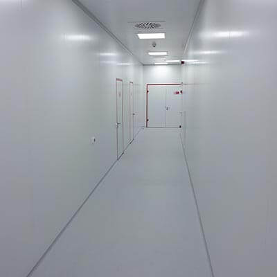 The panel is wall facing