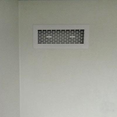 Exhaust panels