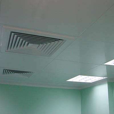Потолочные панели, «кассетного» типа